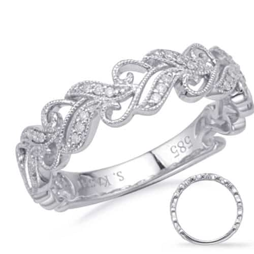 S. Kashi White Gold Matching Band (EN8172-B10WG)