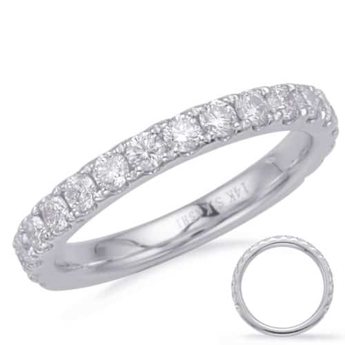 S. Kashi White Gold Matching Band (EN8180-BWG)