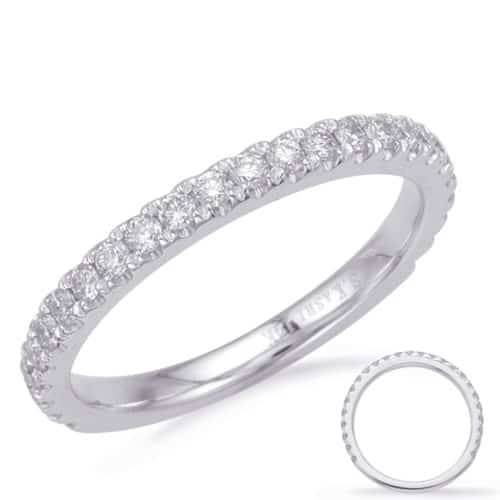 S. Kashi White Gold Matching Band (EN8183-BWG)