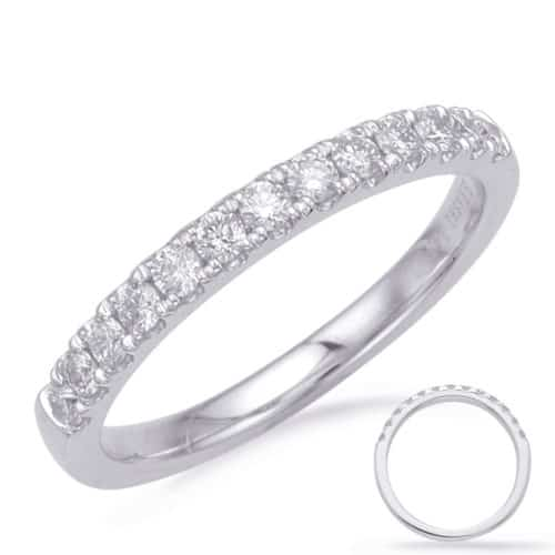 S. Kashi White Gold Matching Band (EN8185-B10WG)
