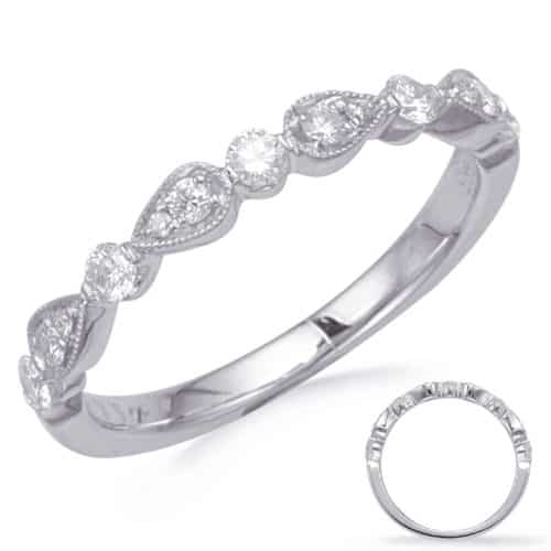 S. Kashi White Gold Matching Band (EN8255-BWG)