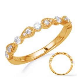 S. Kashi Yellow Gold Matching Band (EN8255-BYG)