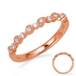 S. Kashi Rose Gold Matching Band (EN8256-BRG)