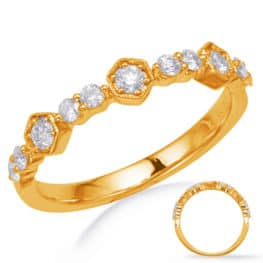 S. Kashi Yellow Gold Matching Band (EN8257-BYG)