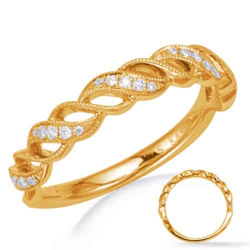 S. Kashi Yellow Gold Matching Band (EN8259-BYG)