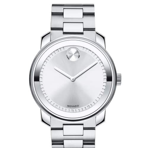 Large Stainless Steel Men's Movado Bold