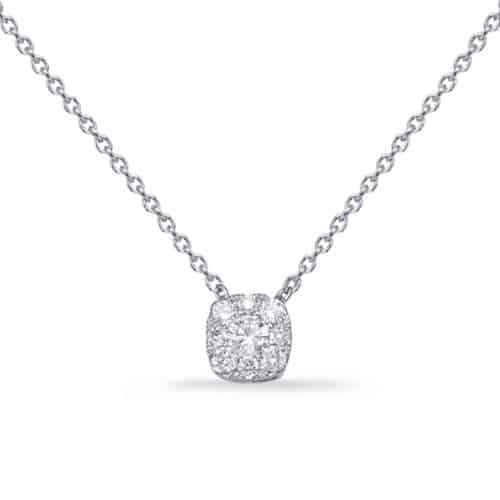S. Kashi White Gold Diamond Necklace (N1229WG)