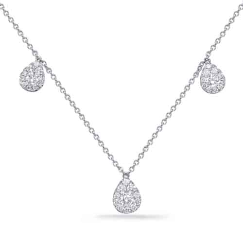 S. Kashi White Gold Diamond Necklace (N1253WG)