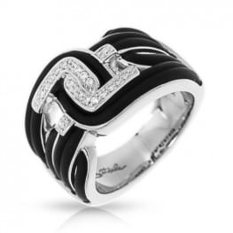 Belle etoile Nexus Black Ring