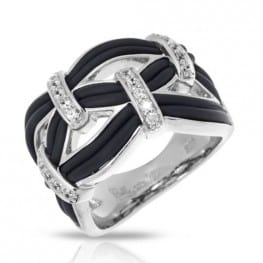 Belle etoile Riviera Black Ring