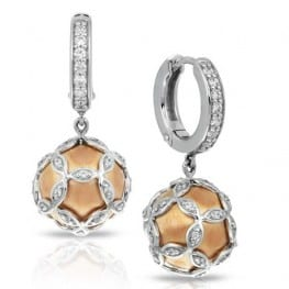 Belle etoile Vienna Rose Gold Earrings