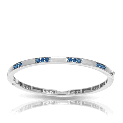 belle etoile constellations tria blue bangle