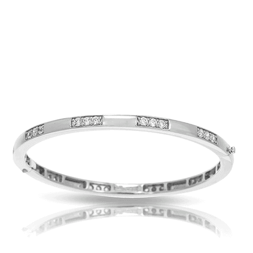 belle etoile constellations tria white bangle