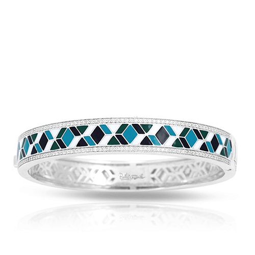 Belle Etoile Forma Collection Blue Bangle Bracelet at Michael Herr.