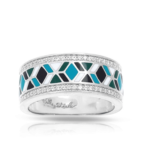 Belle Etoile Forma Collection Blue Ring