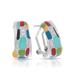 belle etoile spring 2017 mosaica multicolor earrings