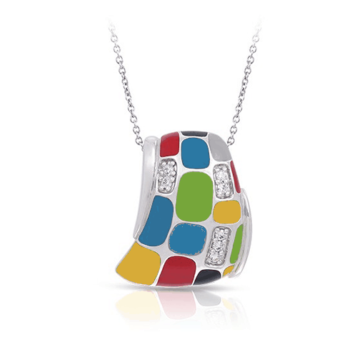 belle etoile spring 2017 mosaica multicolor pendant