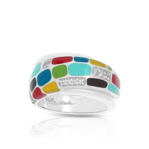 belle etoile spring 2017 mosaica multicolor ring