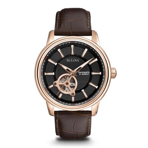 bulova 97a109 mens automatic watch