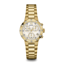 bulova 98r216 womens diamond chronograph watch