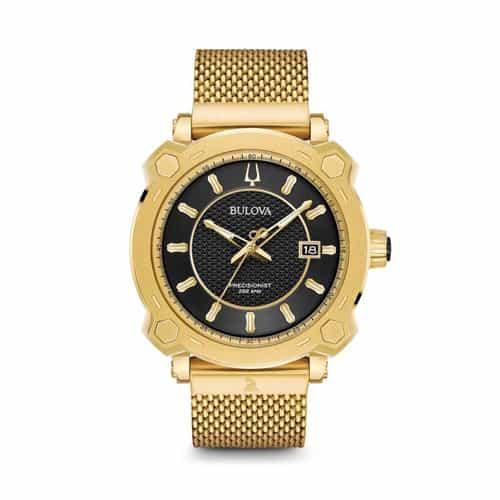 Bulova gold stainless mens Grammy watch.