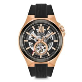 Bulova Men's Automatic Rose Gold Sport Watch.