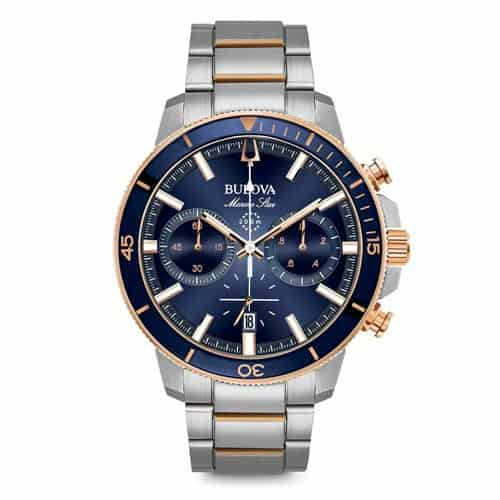 Bulova men's marine star watch.
