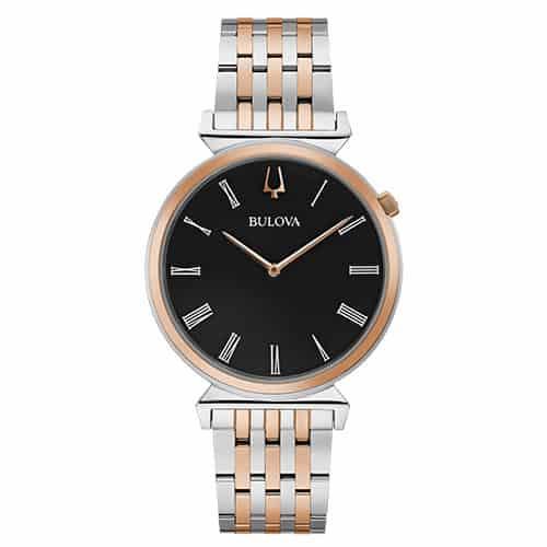 Bulova Men's Classic Regatta Two-Tone Stainless Steel Watch