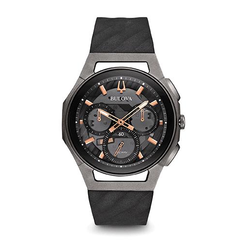 bulova 98a162 mens curv chronograph watch