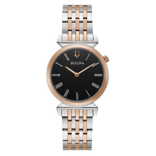 Bulova Women's Classic Regatta Two-Tone Stainless Steel Watch