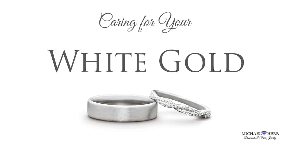 Why Does White Gold Turn Yellow? And How Do I Keep it White