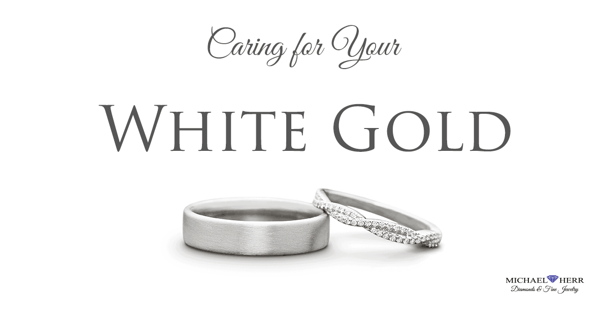 caring for your white gold jewelry