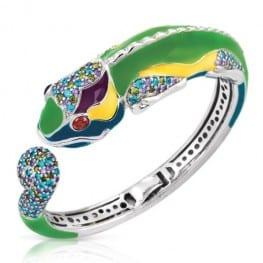 Belle Etoile Chameleon Bangle Bracelet