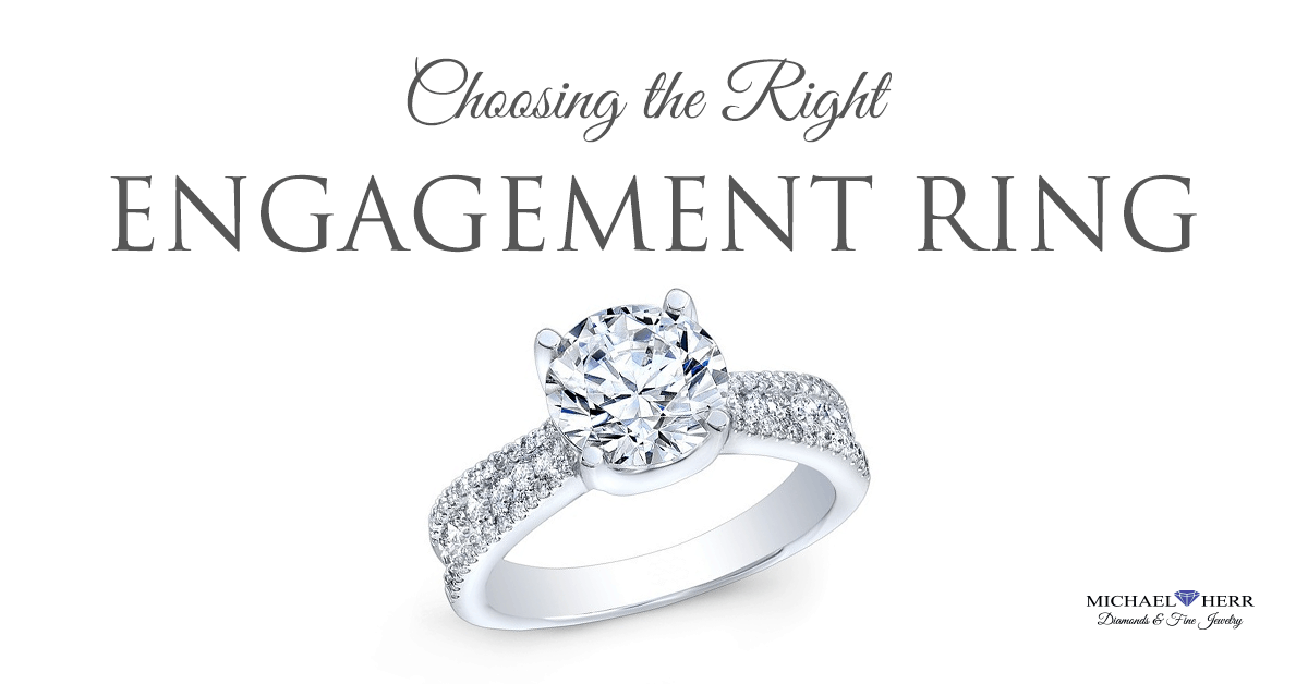 Choosing the Right Engagement Ring Style in Saint Louis.