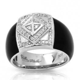 Belle etoile Czarina Black Ring