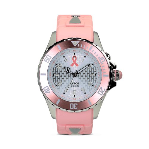 KYBOE! Breast Cancer Awareness Watch.