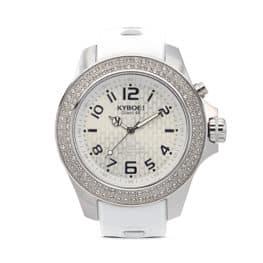 KYBOE! Radiant Silver Watch.