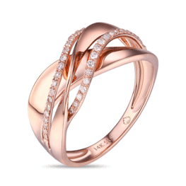 luvente r01256 rose gold