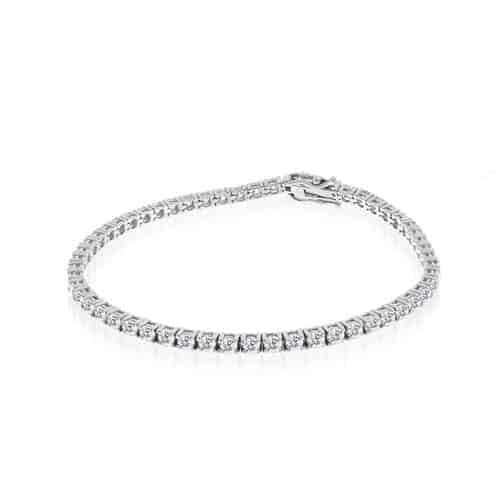 Meira T Chunky Diamond Tennis Bracelet.