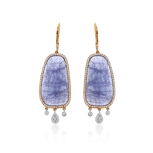 minerals ck pinnacle tanzanite earrings product
