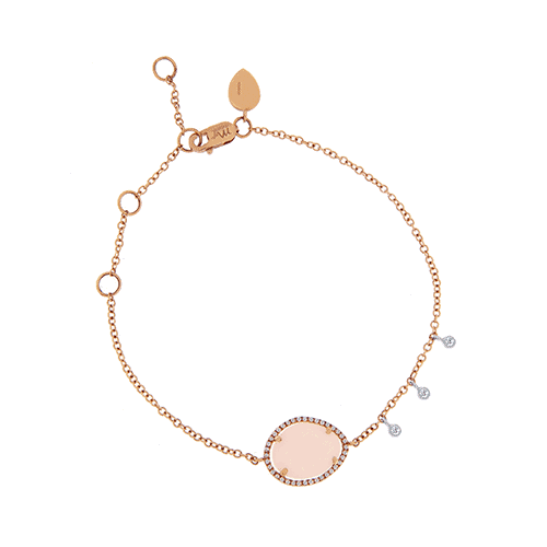 meira t pink opal diamond bezel bracelet