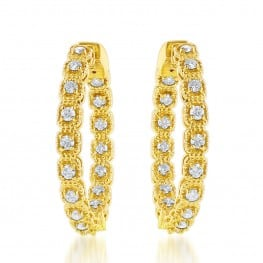 Jewels by Jacob E9900-1Y Earrings
