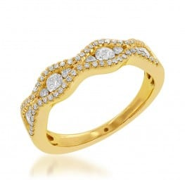 Jewels by Jacob Wedding Ring R7400-YG