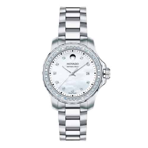 Movado Series 800 Diamond Bezel and Dial