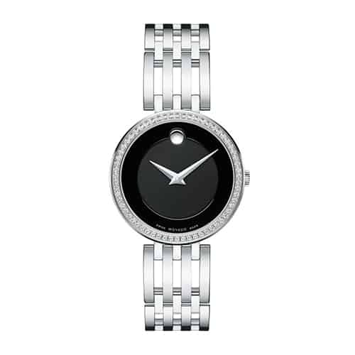 Movado Womens Esperanza watch in Stainless Steel case.