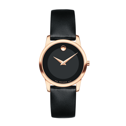 Movado women's museum classic rose gold watch.