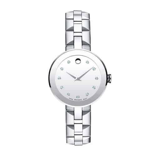 Movado women's sapphire watch.