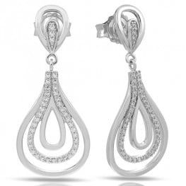 ONDA SILVER EARRINGS