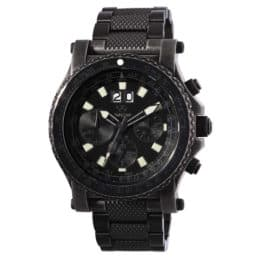 Reactor men's black valkyrie watch.
