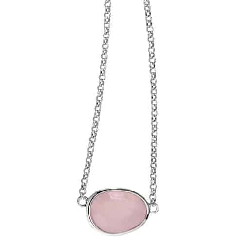 Elle Rose Quartz Necklace
